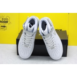 Nike Air Force 1 '07 Mid White Grey Unisex Sneakers 315123-118