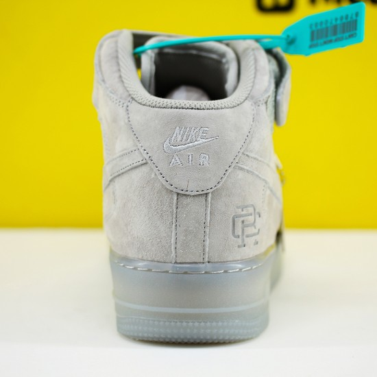 Nike Air Force 1 Mid Grey GB1119-198 Unisex AF1 Running Shoes