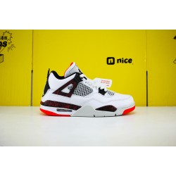 Air Jordan 4 Retro Flight Nostalgia 308497-116 AJ4 Unisex Jordan Sneakers