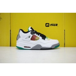 Nike Air Jordan 4 Retro SE Pine Green Metallic Mens Basketball Shoes AQ9129-100