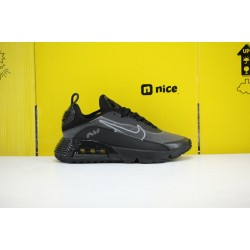 Nike Air Max 2090 Mens Running Shoes Black Grey BV9977 001