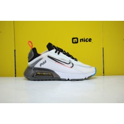 Nike Air Max 2090 Unisex Running Shoes White Blue Black CT7698-007