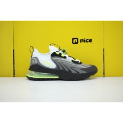 Nike Air Max 270 REACT Eng Mens Sneakers White Green CW2623-001