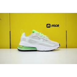 Nike Air Max 270 React Mens Sneakers Grey Green CU3447 001