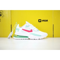 Nike Air Max 270 React Unisex Sneakers White Red Green CV3025 100