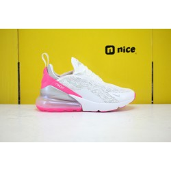 Nike Air Max 270 Womens Running Shoes White Grey Pink CI1963-191