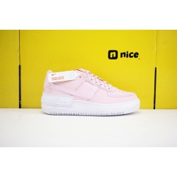 Nike WMNS Air Force 1 Shadow Womens Shoes Pink White Sneakers CV3020-600