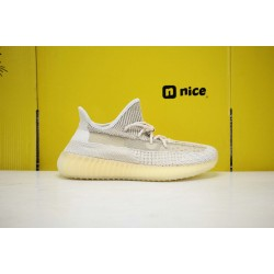 "Adidas Yeezy Boost 350 V2 ""Abez"" Beige/Grey Running Shoes FZ5246 Unisex Sneakers"