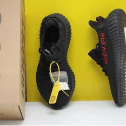 "Adidas Yeezy Boost 350 V2 ""Black/Red"" Core Black/Red Running Shoes Unisex Sneakers CP9652"