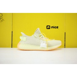"""Adidas Yeezy Boost 350 V2 """"Butter"""" Yellow/LTgreen Running Shoes Unisex Sneakers F36980"""