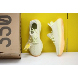 "Adidas Yeezy Boost 350 V2 ""Butter"" Yellow/LTgreen Running Shoes Unisex Sneakers F36980"