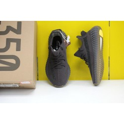 """Adidas Yeezy Boost 350 V2 """"Cinder Reflective"""" Black Running Shoes FY4176 Unisex Sneakers"""