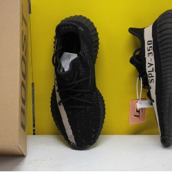 "Adidas Yeezy Boost 350 V2 ""Core Black White"" Black/White Running Shoes BY1604 Unisex Sneakers"