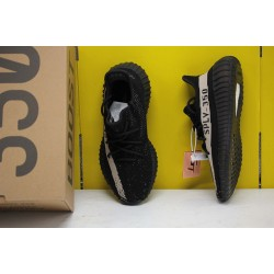 """Adidas Yeezy Boost 350 V2 """"Core Black White"""" Black/White Running Shoes BY1604 Unisex Sneakers"""