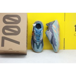 """Adidas Yeezy Boost 700 """"Carbon Blue"""" Running Shoes FW2498 Unisex Sneakers"""