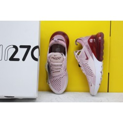 """Nike Air Max 270 """"Barely Rose"""" Barely Rose/Vintage Wine-Elemental Rose AH6789-601 Womens Running Shoes"""