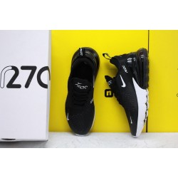 Nike Air Max 270 Black/White Running Shoes AH6789 001 WMNS Sneakers