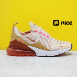 """Nike Air Max 270 """"Guava Ice"""" Guava Ice/Terra Blush-Racer Pink AH6789-801 Womens Running Shoes"""