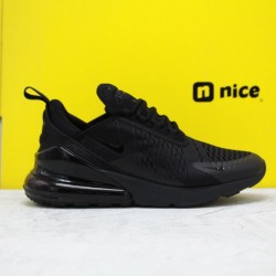 "Nike Air Max 270 ""Triple Black"" Black/Black-Black AH8050 005 Unisex Running Shoes"