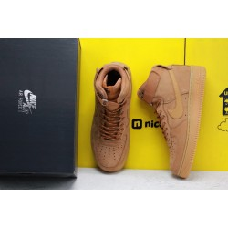 "Nike Air Force 1 Low 07 LV8 ""Wheat/Flax"" Brown Running Shoes Unisex AF1 Sneakers CJ9178 200"