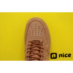 """Nike Air Force 1 Low 07 LV8 """"Wheat/Flax"""" Brown Running Shoes Unisex AF1 Sneakers CJ9178 200"""