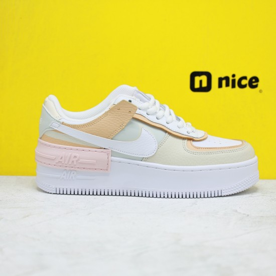 """Nike WMNS Air Force 1 Shadow """"Tropical Twist"""" Womens Running Shoes CK3172 002 AF1 Sneakers Outfit"""
