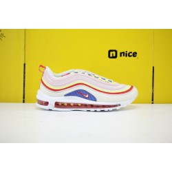 "Nike Air Max 97 SE ""Corduroy"" Sail/Volt Glow/Arctic Pink Running Shoes Unisex AQ4137 101 Sneakers"