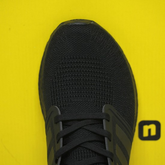 Adidas Ultra Boost 20 Black/Gold Running Shoes EG0754 Mens Sneakers