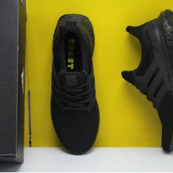 "Adidas Ultra Boost 4.0 All Black ""Primeknit 360"" Running Shoes FV7280 Mens Sneakers"