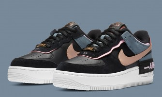 Air Force 1 Shadow Black Light Arctic Pink Claystone Red CU5315 001