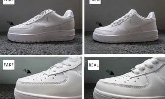 How to distinguish the authenticity of the NIKE AIR classic series Air Force One